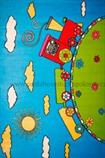 kusový koberec BABY 17