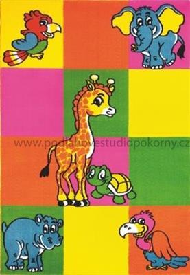 kusový koberec BAMBI / multicolor