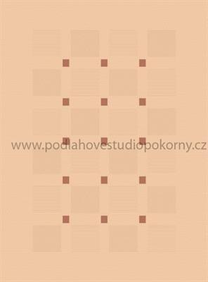 kusový koberec FLOORLUX 2 Mais/Orange