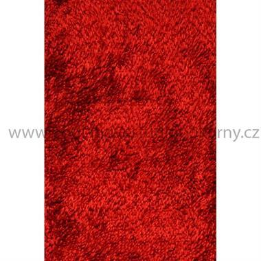 kusový koberec SHINE SHAGGY red