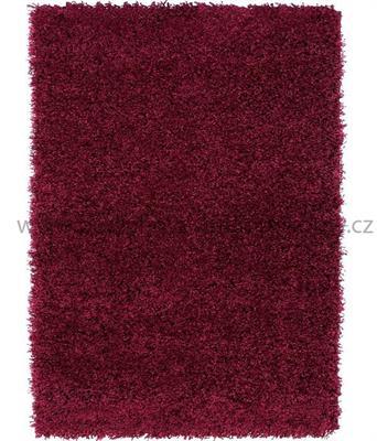 kusový koberec SHAGGY PLUS purple