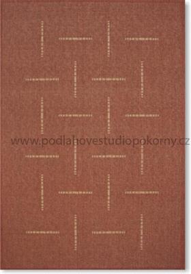 kusový koberec FLOORLUX Orange/Mais