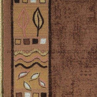 koberec běhun RAMSES GF - hnědý