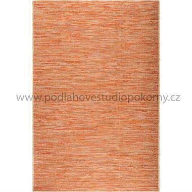 kusový koberec RONSE wool sienna red