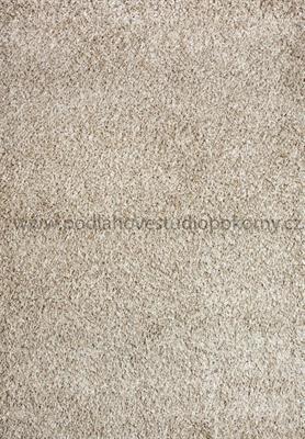 kusový koberec SHAGGY PLUS cream/beige