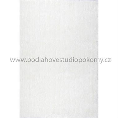 kusový koberec BORNEO SHAGGY white