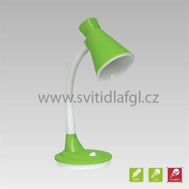 Stolní lampa PAPAGENO zelená