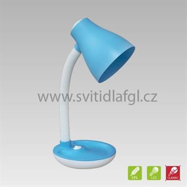 Stolní lampa PEGGY modrá