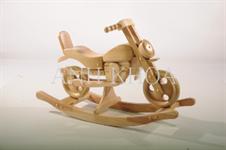 Dřevěná Houpací motorka