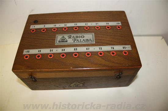 Skupinová anodová baterie Palaba