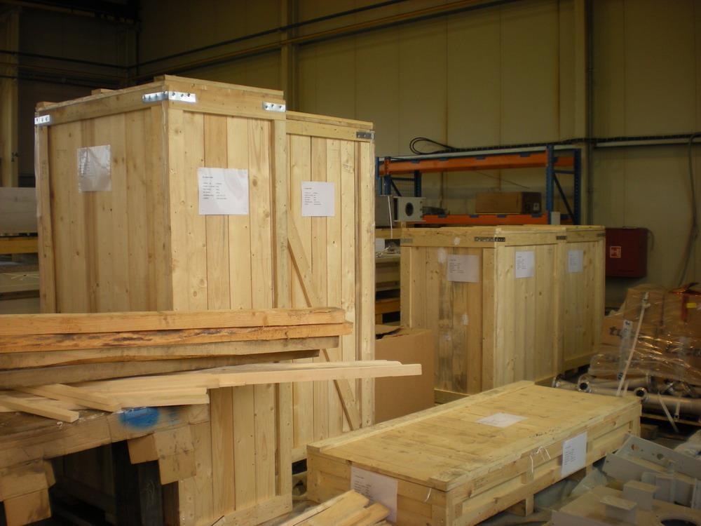 Transportní dřevěné bedny - Exportní balení c1b35e4a300