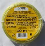 Šňůra na prádlo 3 mm se silonovým lankem a ocelovou strunou EXTRA STEEL 10 m