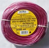 Prádelní šňůra do sušáku 3 mm se silonovým lankem a ocel. strunou INTRIS AIRER EXTRA STEEL 100 m