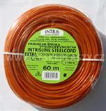 Šňůra na prádlo 3,5 mm s ocelovým lankem vysokopevnostní EXTRA 60 m