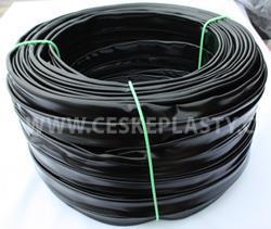 Bužírka izolační a ochranná 25,0 x 0,5 mm, 80 ShA, černá, různé délky návinů