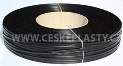 Klipovací pásek 8 mm černý kotouč 600 m