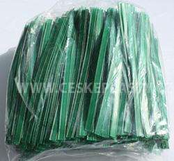 Klipovací páska 8 mm dělená 1000 ks střední zelená