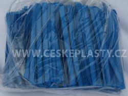 Klipovací páska 8 mm dělená 1000 ks modrá