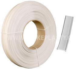 Klipovací páska s drátky bílá v kotouči