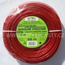 Vysokopevnostní šňůra na prádlo s ocelovým lankem STEELCOR EXTRA 3,5 mm 50 m