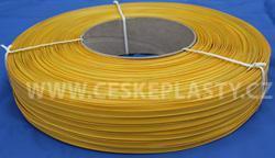 Klipovací páska 8 mm v kotouči 600 m žlutá