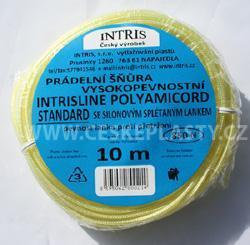 Vysokopevnostní šňůra na prádlo se silonovým lankem INTRISLINE POLYAMICORD STANDARD 10 m