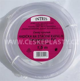 Hadička PVC na stáčení 1,5 m