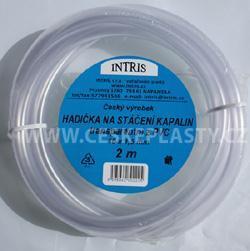 Hadička PVC na stáčení  s hladkou vnitřní stěnou 2 m