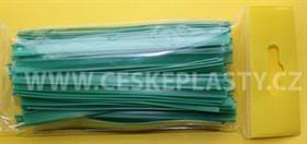 Klipovací páska 8 mm dělená 100 ks střední zelená