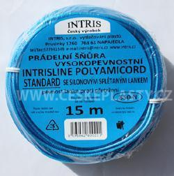 Vysokopevnostní šňůra na prádlo se silonovým lankem INTRISLINE POLYAMICORD STANDARD 15 m