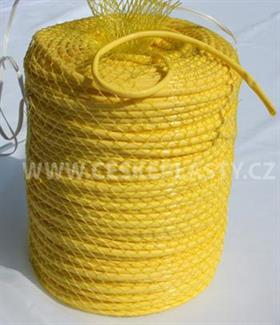 Vázací bužírka PROFI 5 mm 100 m žlutá