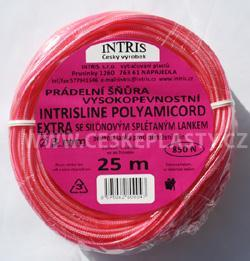 Vysokopevnostní šňůra na prádlo se silonovým lankem 3 mm INTRISLINE POLYAMICORD EXTRA 25 m