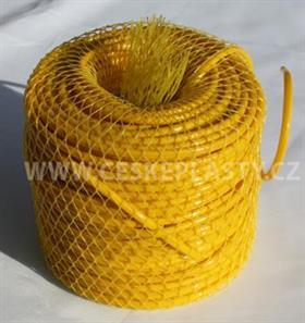 Vázací bužírka HOBBY 4 mm 50 m žlutá