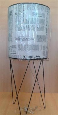 Stojací lampa NOVINY
