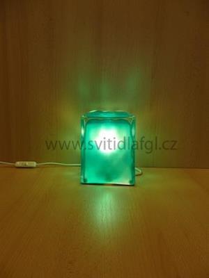 Stolní lampa LADA zelená