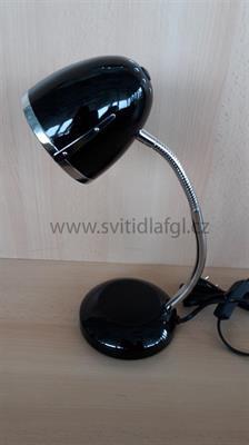 Stolní lampa POCATELLO černá