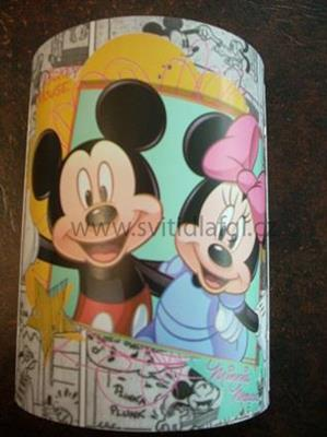 Nástěnná lampa Mickey