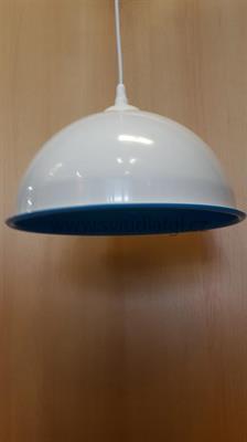Lustr PLEXI modrý