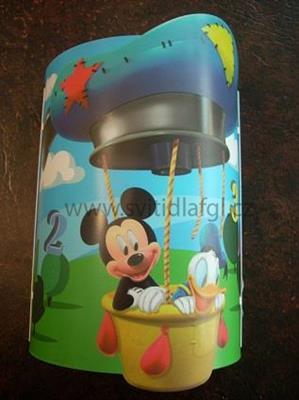 Nástěnná lampa Mickey Club