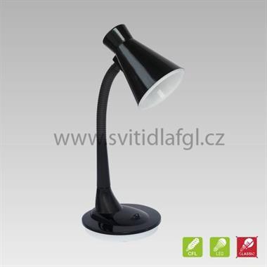 Stolní lampa PAPAGENO černá