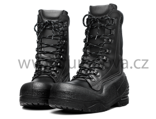 Kožené boty s protipořezovou ochranou 20 m/s