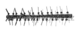 Výměnná hřídel s vertikutačními noži