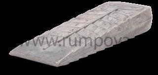 Dřevorubecký klín z magnézia