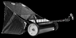 Sweeper / Sběrný vozík na trávu