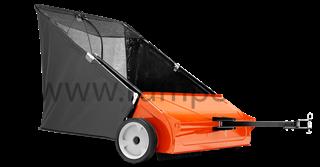 Sweeper/ Sběrný vozík na trávu