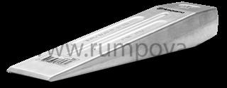 Dřevorubecký/štípací klín z hliníku