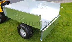 Vozík VARES pro zahradní traktory - TRVMS - POZINK