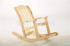 Dřevěná houpací židlička
