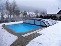 Venkovní bazén s mořskou vodou 32 - 35 °C