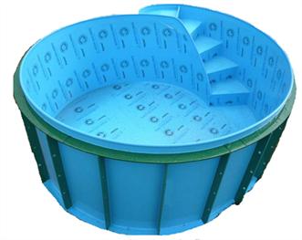 Nadzemní plastový bazén